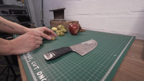 Cuchillo papel aluminio