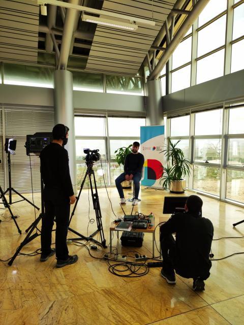 Uno de los servicios que Distrito Digital ofrece a las empresas instaladas y partners es el de realizar vídeos promocionales.
