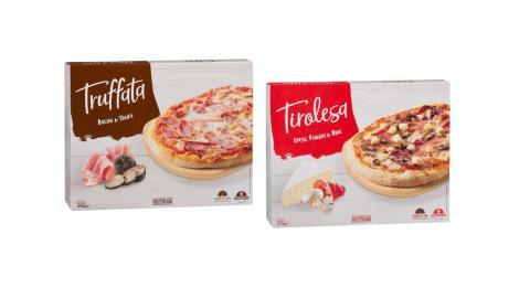 Dos nueva pizzas de Mercadona estilo italiano.