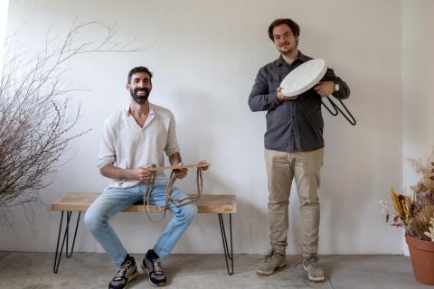 Maurici Badía y Joan Álvarez, cofundadores de Hannun.