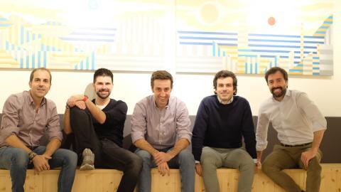 En la imagen, el equipo de Yaba.