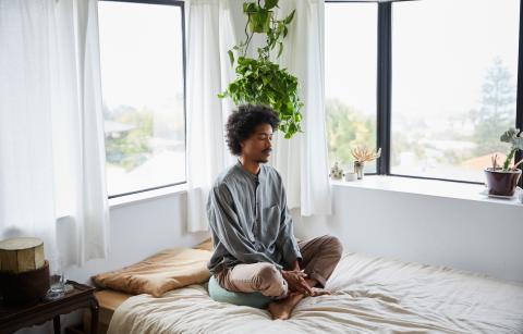 foco único, técnica de meditación