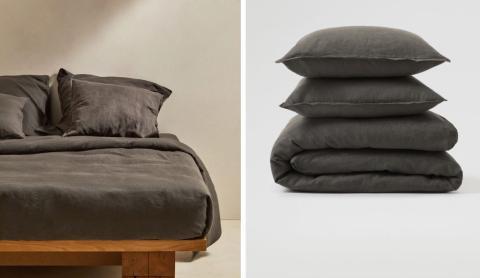 Funda Nórdica en lino. 79,99 euros para cama de 150/160cm.