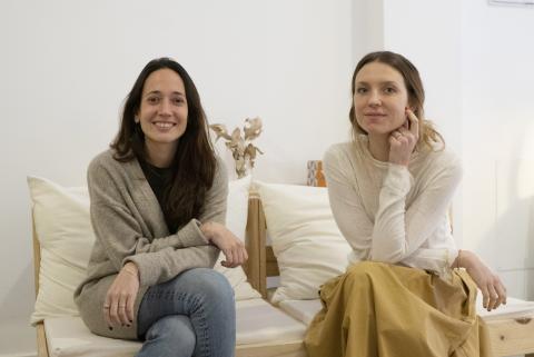 Anna Cañadell y Alba García, cofundadoras de Bcome.