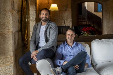 Emilio Galán y Rubén Sánchez, fundadores de Beonprice
