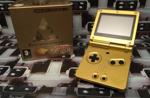Game Boy Advance SP Zelda Edition