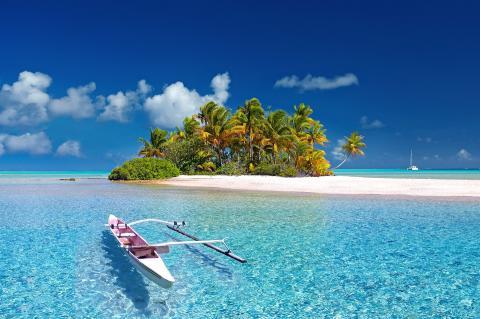 Isla paradisiaca Polinesia