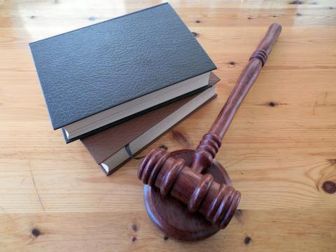 Juez justicia mazo