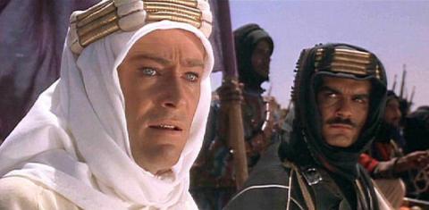 Escena de 'Lawrence de Arabia'.