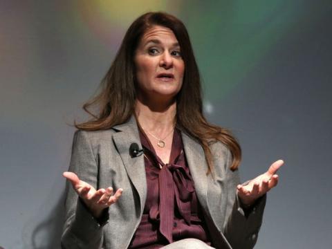 Melinda Gates participa en el 'No Ceilings: The Full Participation Project', en Nueva York, el lunes 9 de marzo de 2015.