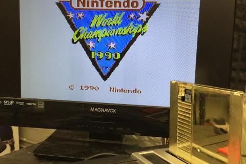 Nintendo World Championship cartucho