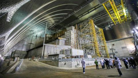 El Nuevo Confinamiento Seguro (NSC) lleva en pie desde 2016 y se encarga de proteger las ruinas del reactor de Chernobyl.