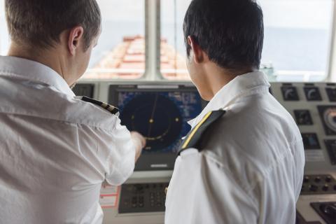 Oficial de la marina.