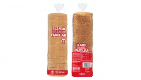 Pan de Molde Blanco Hacendado en Mercadona.