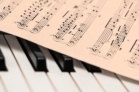 Partitura música clásica