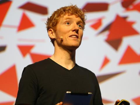 El cofundador y CEO de Stripe, Patrick Collison.