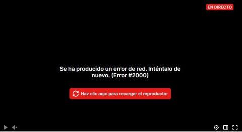 Problema de Twitch en España.
