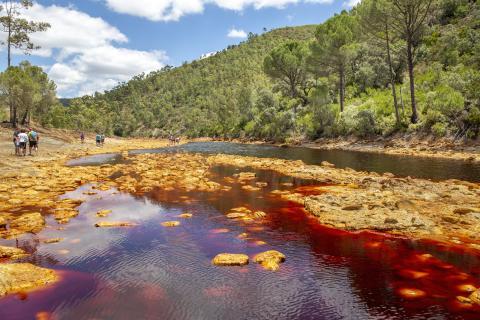 Río Tinto en Huelva