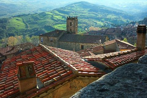 Santa Fiora pueblo italiano