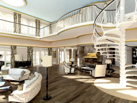 Así sería el apartamento del propietario.