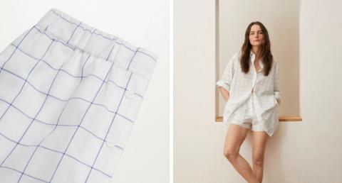 Short para pijama de Mango. 19,99 euros.