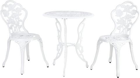 Sillas y mesa de jardín Homfa