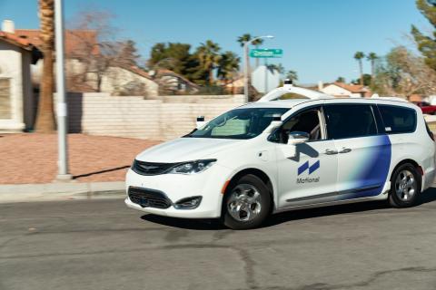 Sistema de conducción autónoma desarrollado por Motional para coches