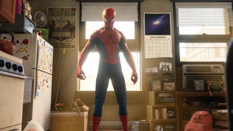 'Marvel's Spiderman' para PS4.
