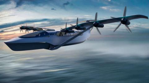 Se viajará tan cómodo como en ferry a la velocidad de un avión pequeño.