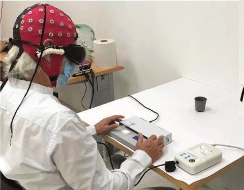 terapia génica visión EEG