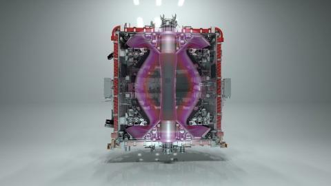 Ilustración de un artista que muestra el dispositivo desarrollado.