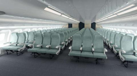 Así se vería la cabina del Frigate Ecojet (Wikipedia)