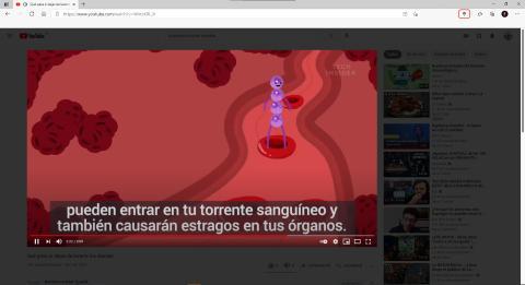 Video en Youtube Extension