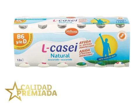 yogures L-Casei natural Lidl