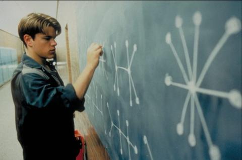 Matt Damon, en la película 'El indomable Will Hunting'.