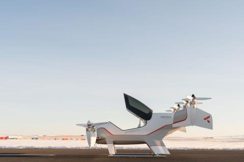 Los veteranos del proyecto Vahana de Airbus (en la imagen) han lanzado su propia empresa de aviación, Airflow.