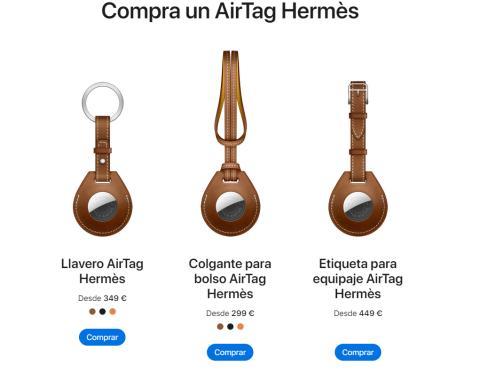 Airtag hermes precio