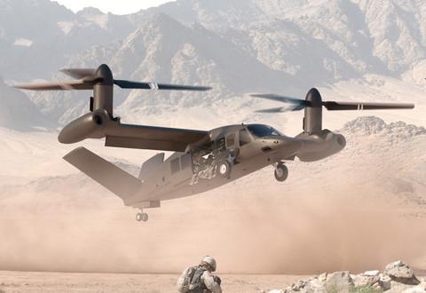 Bell está desarrollando nuevos aviones para usos militares y comerciales.