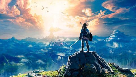 Arte de 'The Legend of Zelda: Breath of the Wild'.