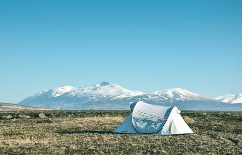 Camping acampada acampar