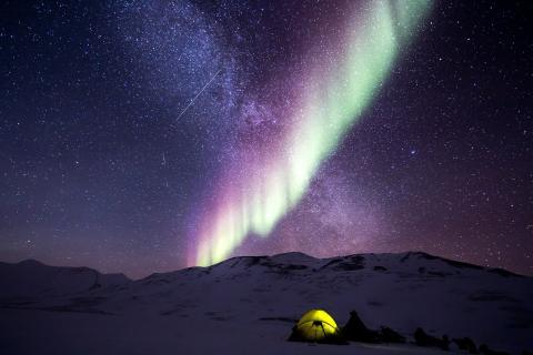 Camping frío