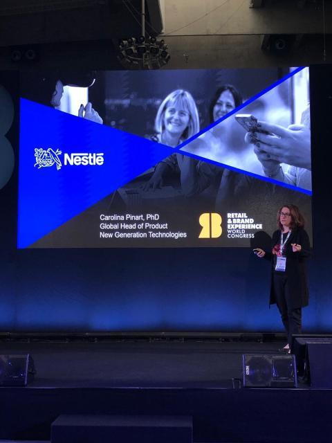 Carolina Pinart,  directora a nivel global de Nuevas Tecnologías de Producto en Nestlé.