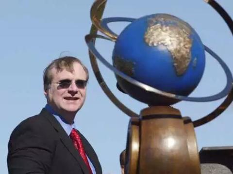 El cofundador de Microsoft, Paul Allen, en la ceremonia del Premio Ansari XP de 2004.