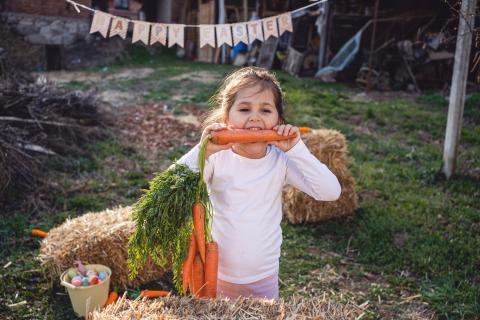 Comer más verdura