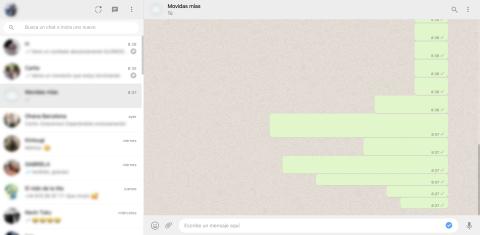 Cómo mandar mensajes invisibles en WhatsApp