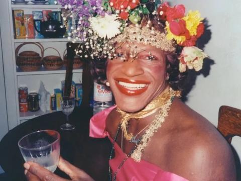 Marsha P. Johnson.