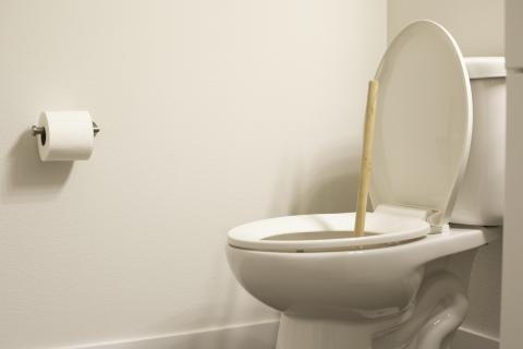 Desatascador baño