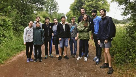 Algunos miembros del equipo de EDpuzzle.