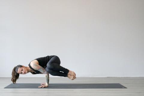 Equilibrio en el yoga