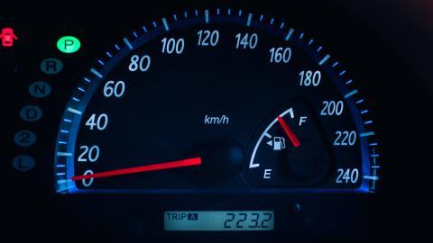 Flecha de la gasolina